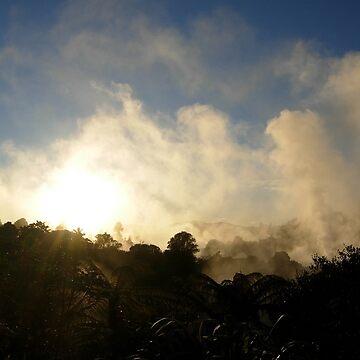 Sunrise in Rotorua, New Zealand by KookyCool