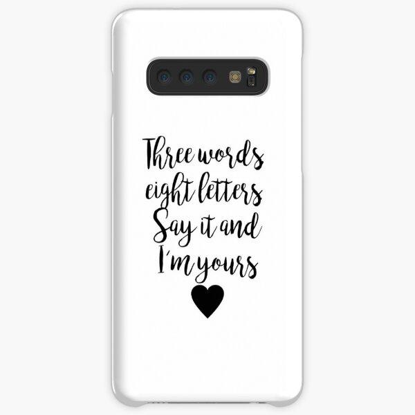 Gossip Girl - Three Words Samsung Galaxy Snap Case