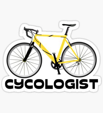Cycologist Sticker