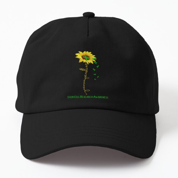 Sunflower You Are My Sunshine Stem Cell Research Awareness Dad Hat