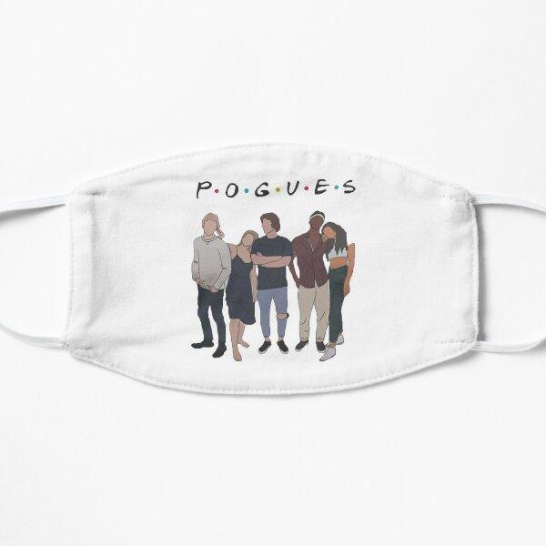Outer Banks: pogue life pogues friends Flat Mask
