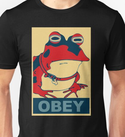 All Obey The Hypnotoad! Unisex T-Shirt