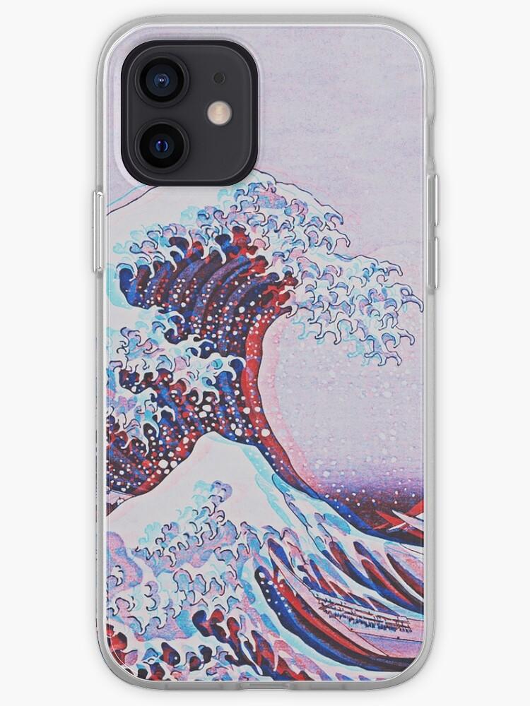 La grande vague de kanagawa 3D   Coque iPhone