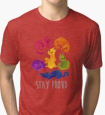LGBT + PRIDE CATS Tri-blend T-Shirt