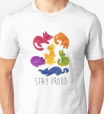 LGBT+ PRIDE CATS T-Shirt