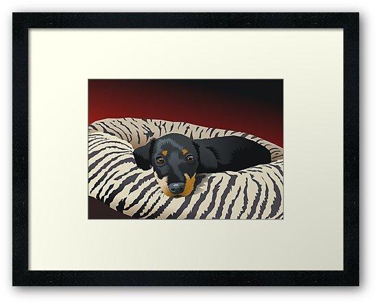The hunter rests by Matt Mawson