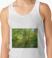 Creek At Whitesbog - Browns Mills - New Jersey - USA Men's Tank Top