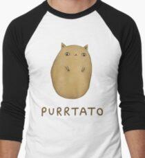 Purrtato Men's Baseball ¾ T-Shirt