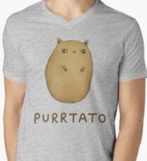 Purrtato Men's V-Neck T-Shirt
