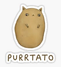 Purrtato Sticker