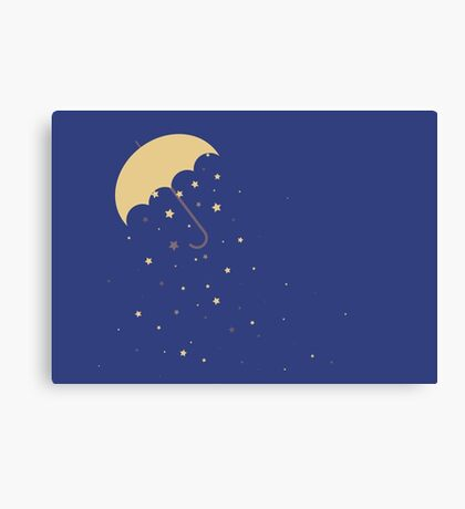 Starry Rains Canvas Print