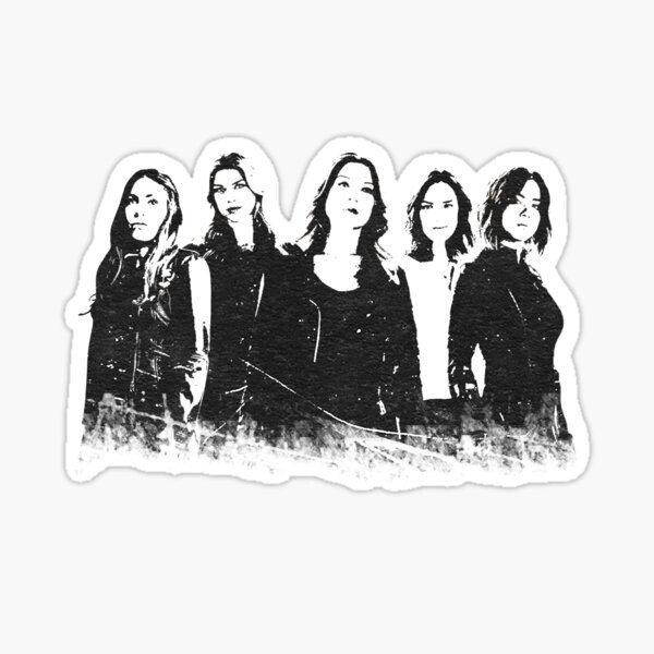 Ladies of SHIELD Sticker