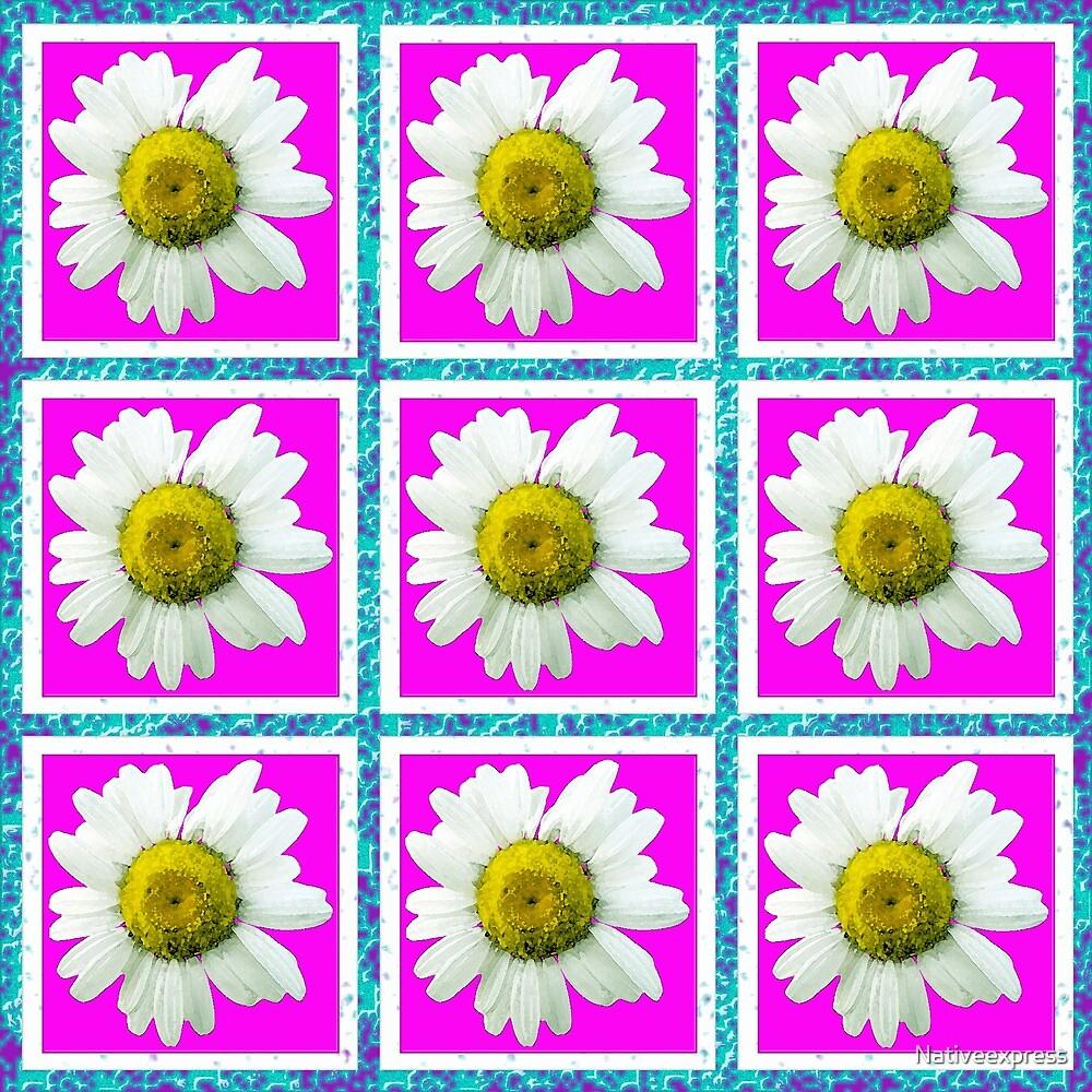 Daisies and Blocks by Nativeexpress