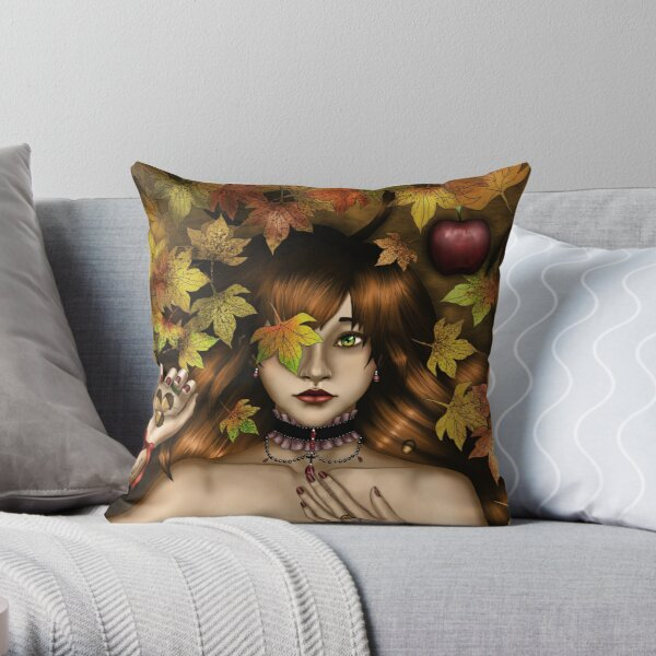 Automne Throw Pillow