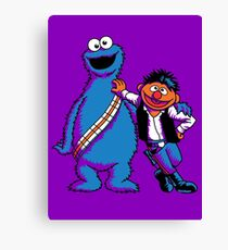 Scruffy Looking Smuggers Canvas Print