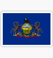 Pennsylvania Flag Sticker