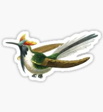 Exotic Rainforest Bird Sticker