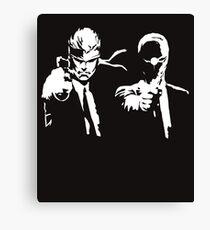 Metal Gear Fiction (Pulp Gear Solid) Canvas Print