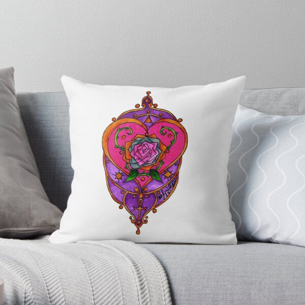 Sacred Heart Space Throw Pillow