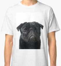 Hugo - The Black Pug Classic T-Shirt