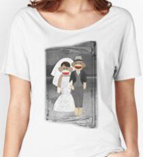 Sock Monkey Wedding Women's Relaxed Fit T-Shirt