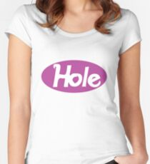 Hole - Courtney Love classic violet Women's Fitted Scoop T-Shirt