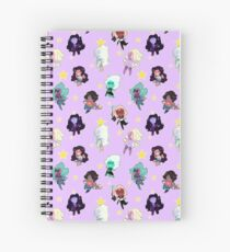 Fusion Pattern Spiral Notebook