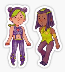 Jolyne and Hermes Sticker