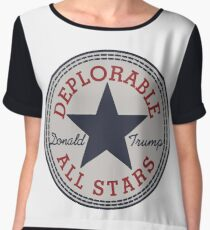 Deplorable All Stars Chiffon Top