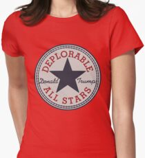 Deplorable All Stars Womens Fitted T-Shirt