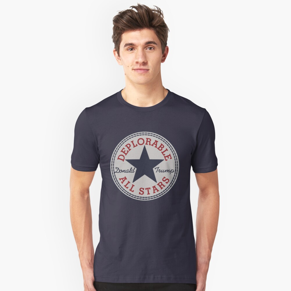 Deplorable All Stars Unisex T-Shirt Front