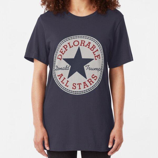 Deplorable All Stars Slim Fit T-Shirt