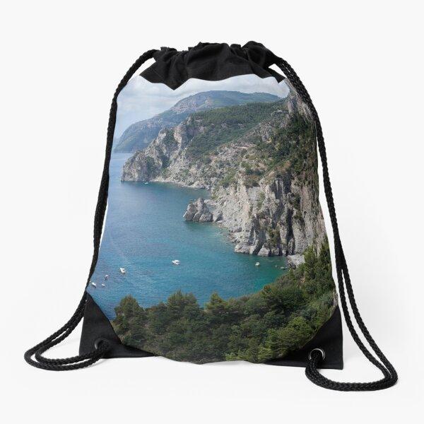 AMALFI COASTLINE Drawstring Bag