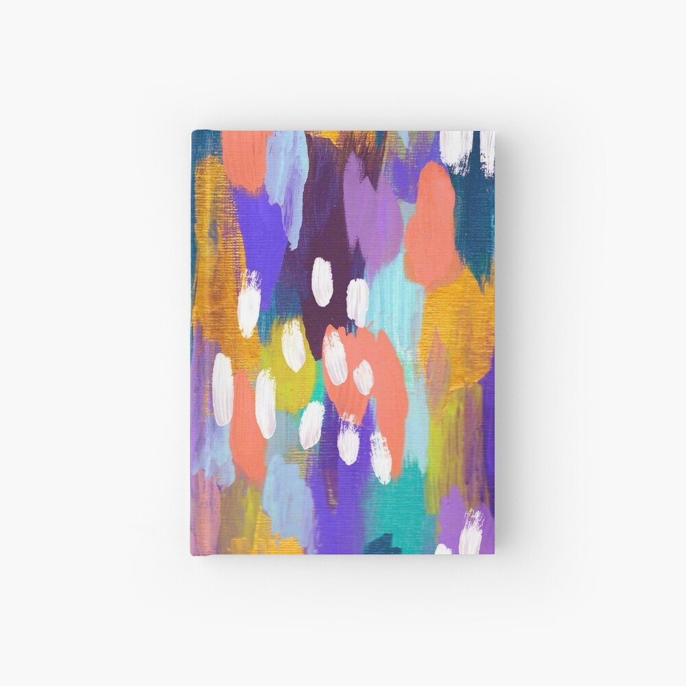 Jules - Abstract Hardcover Journal