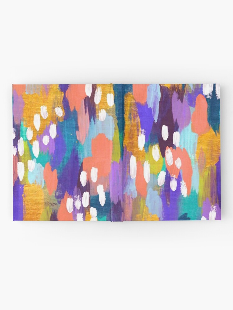 Alternate view of Jules - Abstract Hardcover Journal