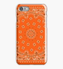 Orange Hanky,Handkerchief iPhone Case/Skin