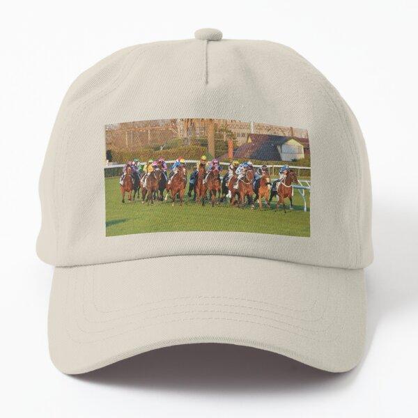 Horse racing action 13 Dad Hat