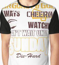 can't wait until Sunday Graphic T-Shirt