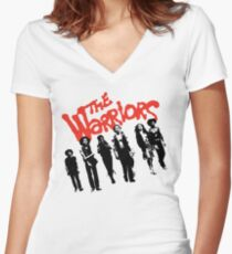 The Warriors | Warriors Gang Women's Fitted V-Neck T-Shirt