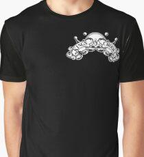 Kings&Crooks Banner White Graphic T-Shirt