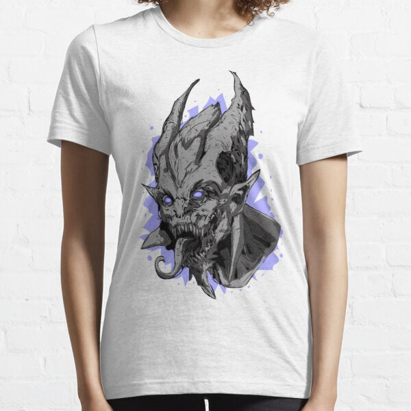 Hell Demon screaming (black , grey , violet  ) version  halloween giftT-shirt Essential T-Shirt