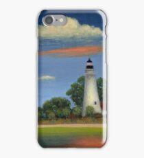 St. Mark's Light, Florida iPhone Case/Skin