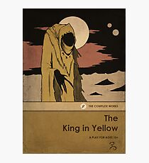 The King in Yellow Photographic Print