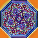 mandala mosaic by redqueenself