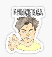 Danger.CA Sticker
