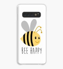 Bee Happy Case/Skin for Samsung Galaxy