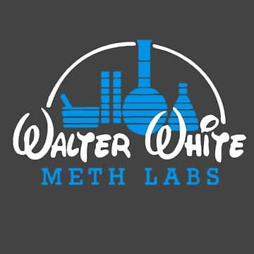 Walter White meth labs art by Rattaspi