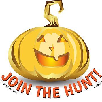 Pumpkinhunt: Golden Pumpkin by kindawonderful