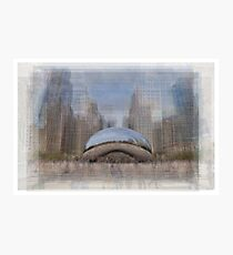 Cloud Gate, Chicago Bean Photographic Print