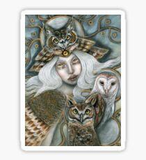 Owl Harpy Sticker